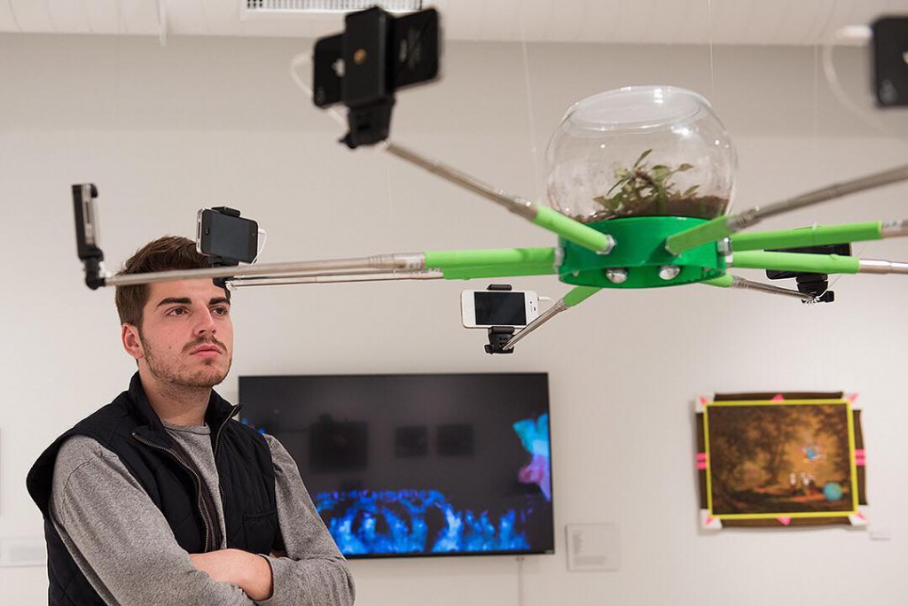 ethan shaefer selfie moment